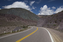 Road leading towards Salinas Grandes by Panoramic Images