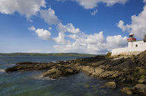 Ballynacourty Lighthouse, County Waterford, Ireland von Panoramic Images