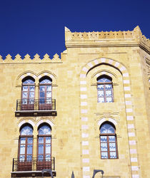 Low angle view of a building, Beirut, Lebanon von Panoramic Images