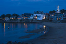 Buildings at the waterfront, Front Beach, Rockport, Cape Ann, Massachusetts, USA von Panoramic Images