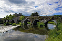 The 13 Arch Bridge over the River Funshion, Glanworth, County Cork, Ireland von Panoramic Images