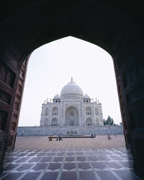 Taj Mahal, Agra, Rajasthan, India by Panoramic Images