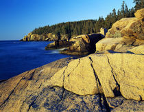 Mount Desert Island shoreline, Acadia National Park, Maine, USA. von Panoramic Images