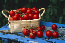 Still life of cherry tomatoes  by Panoramic Images