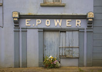 Derelict Shop, Kilmaganney, County Kilkenny, Ireland von Panoramic Images