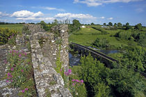 The 13 Arch Bridge from the Castle, Glanworth, County Cork, Ireland von Panoramic Images