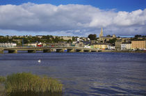 Modern Bridge over the River Barrow, New Ross, County Wexford, Ireland by Panoramic Images