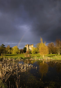 Kilkea Castle Hotel, Built 1180 by Hugh de Lacey, Kilkea, Co Kildare, Ireland von Panoramic Images