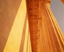 Columns Jefferson Memorial Washington DC USA by Panoramic Images