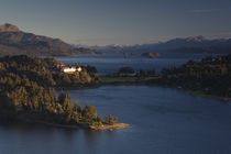 Hotel at the lakeside von Panoramic Images
