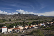 Houses in a town, Cachi, Salta Province, Argentina by Panoramic Images