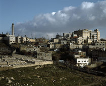 Buildings in a city, Jerusalem, Israel by Panoramic Images