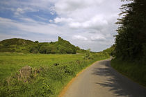 Dunhill Castle, Copper Coast, County Waterford, Ireland by Panoramic Images