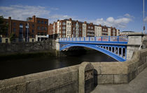 The Rory O'More Bridge, Over The River Liffey, Dublin, Ireland by Panoramic Images