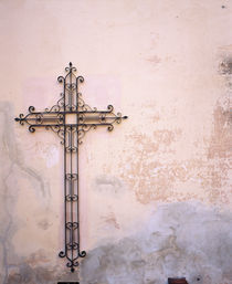 Cross mounted on a wall, Cordoba, Argentina by Panoramic Images