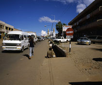 Traffic on the road, Lilongwe, Malawi by Panoramic Images