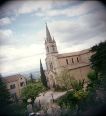 Church in a village, Bonnieux, Vaucluse, Provence-Alpes-Cote D'azur, France by Panoramic Images