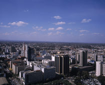 Aerial view of a city, Nairobi, Kenya von Panoramic Images