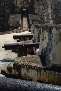 Cannons Of The Sant Barbara Battery von Panoramic Images