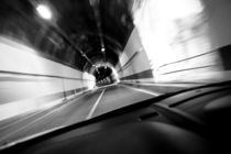 Interiors of a tunnel by Panoramic Images