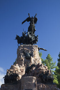 Monument in a park by Panoramic Images