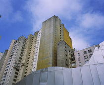 Low angle view of apartments in a city, Sao Paulo, Brazil by Panoramic Images