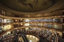 Interiors of a bookstore, El Ateneo, Avenida Santa Fe, Buenos Aires, Argentina von Panoramic Images