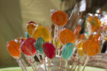 Close-up of lollipops by Panoramic Images