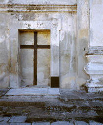 Cross in an alcove, Brazil von Panoramic Images
