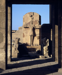 Ruins of statues, Valley Of The Kings, Luxor, Egypt by Panoramic Images