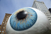 Eyeball sculpture, Chicago, Cook County, Illinois, USA von Panoramic Images