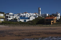 Houses in a town, Jose Ignacio, Maldonado, Uruguay by Panoramic Images