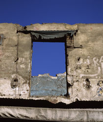 Architectural details of a ruined building, Egypt by Panoramic Images
