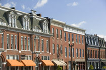 Buildings in a row, Lafayette Square, St. Louis, Missouri, USA by Panoramic Images