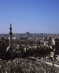 Mosque in a city, Damascus, Syria by Panoramic Images