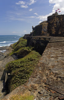View Of Atlantic Ocean From El Morro von Panoramic Images