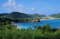 Resort setting, Saint Barth, West Indies. von Panoramic Images