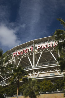 Low angle view of a baseball park, Petco Park, San Diego, California, USA by Panoramic Images