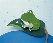 Illustration frog by Panoramic Images