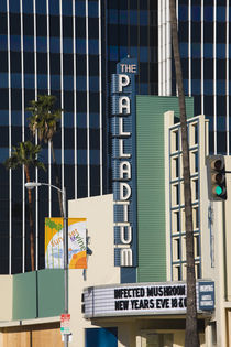 Theater in a city, Hollywood Palladium, Hollywood, Los Angeles, California, USA by Panoramic Images
