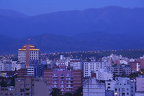 Buildings in a city, Salta, Argentina von Panoramic Images