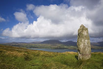 Standing Stone on Bear Island, Beara Peninsula, County Cork, Ireland by Panoramic Images
