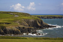Dunabrattin Head, The Copper Coast, County Waterford, Ireland von Panoramic Images