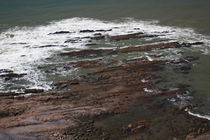 Rock formations on the coast, La Paloma, Rocha Department, Uruguay by Panoramic Images