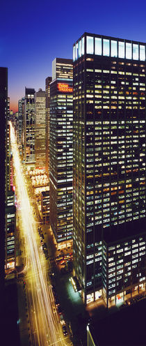 Sixth Avenue Manhattan New York City New York USA by Panoramic Images