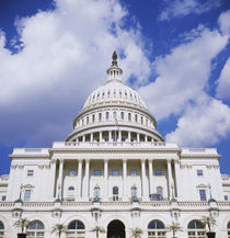 Facade of a government building, Capitol Building, Washington DC, USA by Panoramic Images
