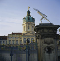 Facade of a palace, Charlottenburg Palace, Berlin, Germany von Panoramic Images