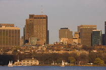 Buildings at the waterfront, Charles River, Boston, Massachusetts, USA von Panoramic Images