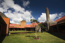 Facade of a distillery, Rhumerie De Chamarel, Chamarel, Mauritius by Panoramic Images