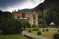 Facade of a building, Villa Feltrinelli, Gargnano, Lake Garda, Lombardy, Italy by Panoramic Images